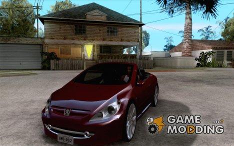 Peugeot 307CC BMS Edition для ноутбуков для GTA San Andreas