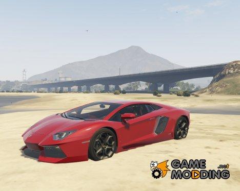 Lamborghini Aventador P700-4 v 0.2 для GTA 5