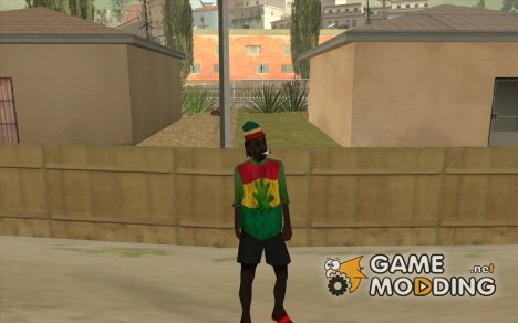 Rasta Grandpa for GTA San Andreas
