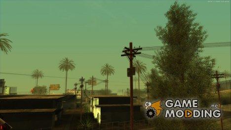 SkyGFX 2.9 для слабых PC for GTA San Andreas