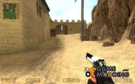 deagle retexture 2012 для Counter-Strike Source