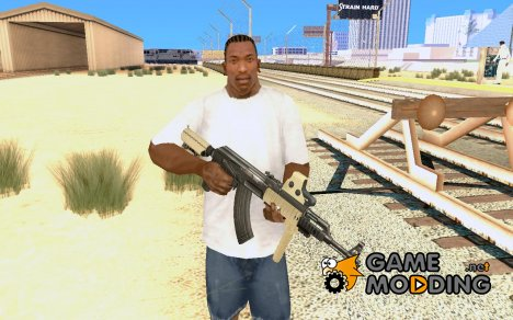 Ak47 with holographic sight for GTA San Andreas