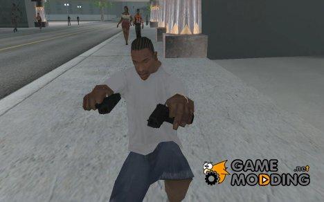 Пистолет G18 для GTA San Andreas