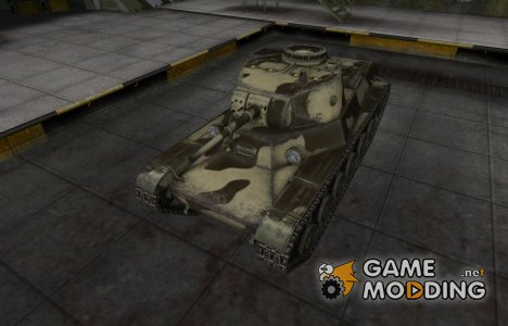 Пустынный скин для Т-50-2 для World of Tanks