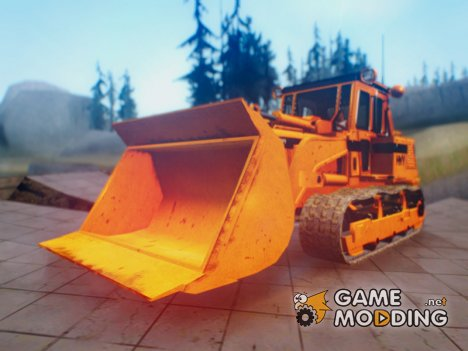 HVY Bulldozer GTA V Next Gen для GTA San Andreas