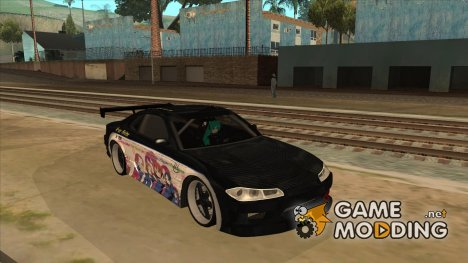 Nissan S15 Paint Job K-on for GTA San Andreas
