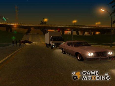 Новые автомобили + скины банд Лос-Сантоса for GTA San Andreas