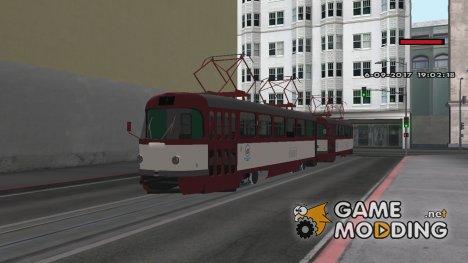 Tatra T3 МТТАр URM for GTA San Andreas