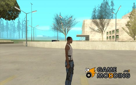 Пистолет-пулемет Бизон for GTA San Andreas