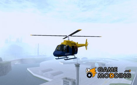 GTA IV News Maverick для GTA San Andreas