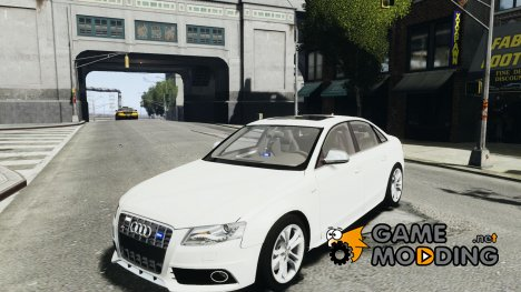 Audi S4 Unmarked for GTA 4