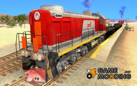 ТЭМ2-6883 РЖД для GTA San Andreas