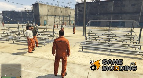 Prison Mod 0.1 for GTA 5