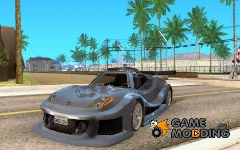 Audi CSX 20T LeMans GTS для GTA San Andreas