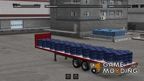 Trailer Pack Fruehauf (Update) для Euro Truck Simulator 2