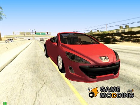 Peugeot 308 CC for GTA San Andreas