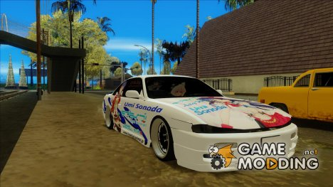 Nissan Silvia S14 - Love Live Itasha for GTA San Andreas