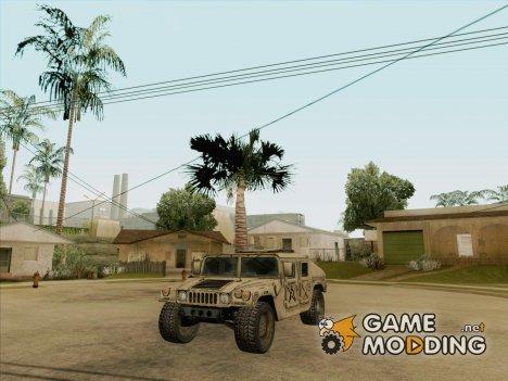 Hummer H1 Army для GTA San Andreas