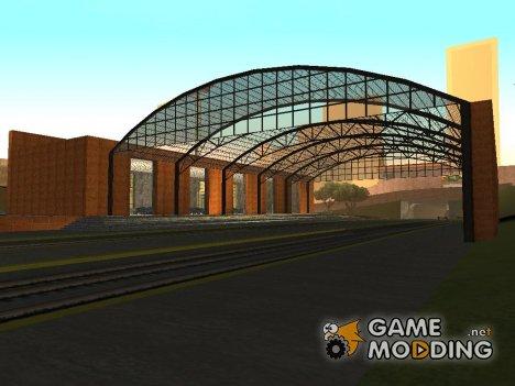 Новая ж/д станция в Сан Фиеро для GTA San Andreas