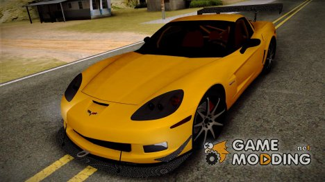 Chevrolet Corvette Z06 2006 Drift Version для GTA San Andreas