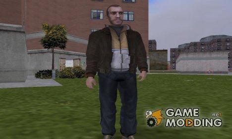 Niko Bellic для GTA 3