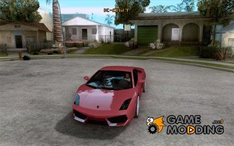 Lamborghini Gallardo LP560-4 for GTA San Andreas