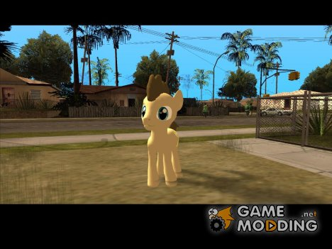 Dr Whooves (My Little Pony) for GTA San Andreas