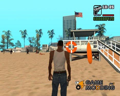 Новая спасательная вышка for GTA San Andreas