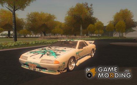 Винил для Elegy Miku Hatsune for GTA San Andreas