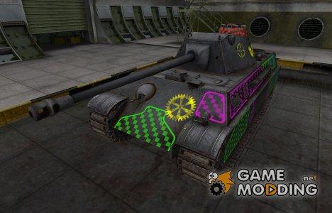 Качественные зоны пробития для Panther II для World of Tanks