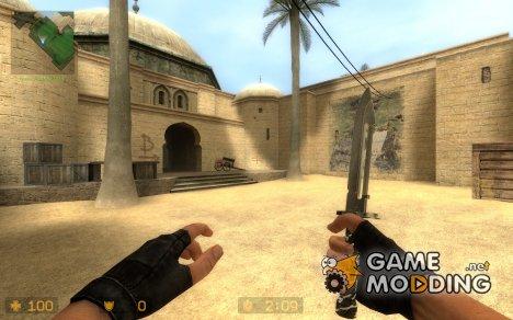 Ult!mate's Camo Knife v1 for Counter-Strike Source