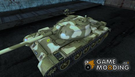 Шкурка для Type 59 для World of Tanks