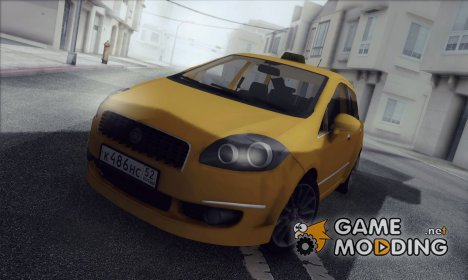 Fiat Linea Taxi для GTA San Andreas