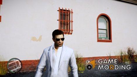 Вито из Mafia II в белом костюме для GTA 4