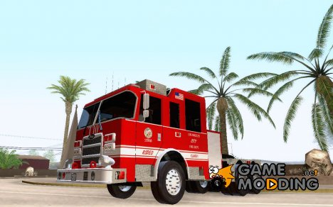 Pierce Arrow XT LAFD Tiller Ladder Truck 10 для GTA San Andreas