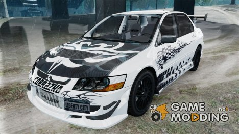 Mitsubishi Lancer Evolution VIII MR CobrazHD для GTA 4