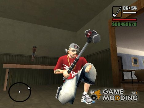 Deadpool SledgeHammer для GTA San Andreas