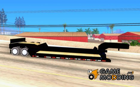 Trailer lowboy transport для GTA San Andreas