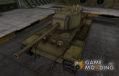 Шкурка для КВ-3 в расскраске 4БО для World of Tanks