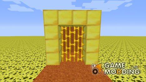 Golden Bars для Minecraft
