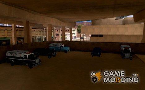 LSPD парковка для GTA San Andreas