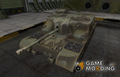 Пустынный скин для AT 15A для World of Tanks