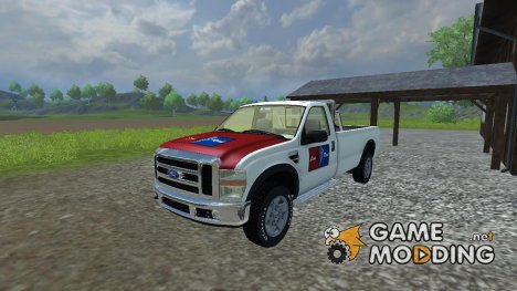 Lion Rent Ford F250 для Farming Simulator 2013