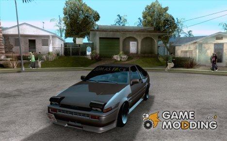 Toyota AE86 JDM for GTA San Andreas