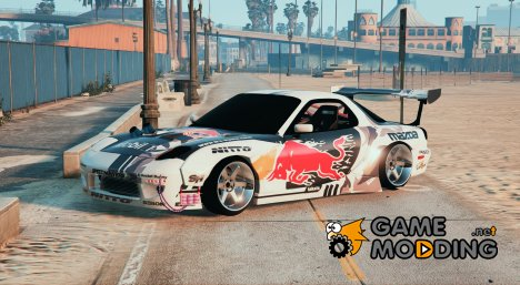 Mazda RX7 Rocket Bunny FD3 MadBULL for GTA 5
