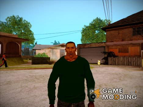 СJ2015: Skin preview (Grove Style) for GTA San Andreas