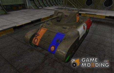 Качественный скин для M7 для World of Tanks