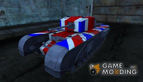 Шкурка для Черчилль for World of Tanks