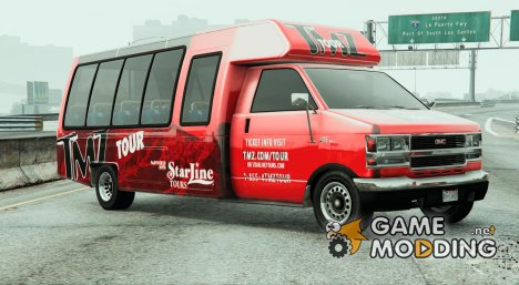 TMZ Tourbus for GTA 5
