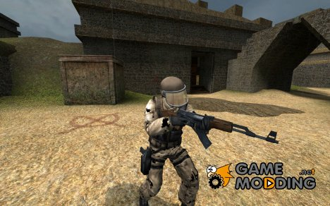 Digital Desert Camo GIGN for Counter-Strike Source